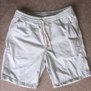 Men's Medium Vans mint green cotton shorts